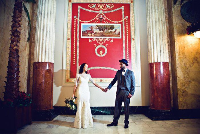 00801 Wedding Feature: An HU Romance