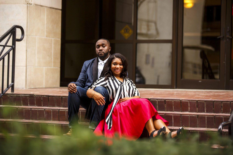 Chic Jacksonville Couple's Engagement Shoot 13