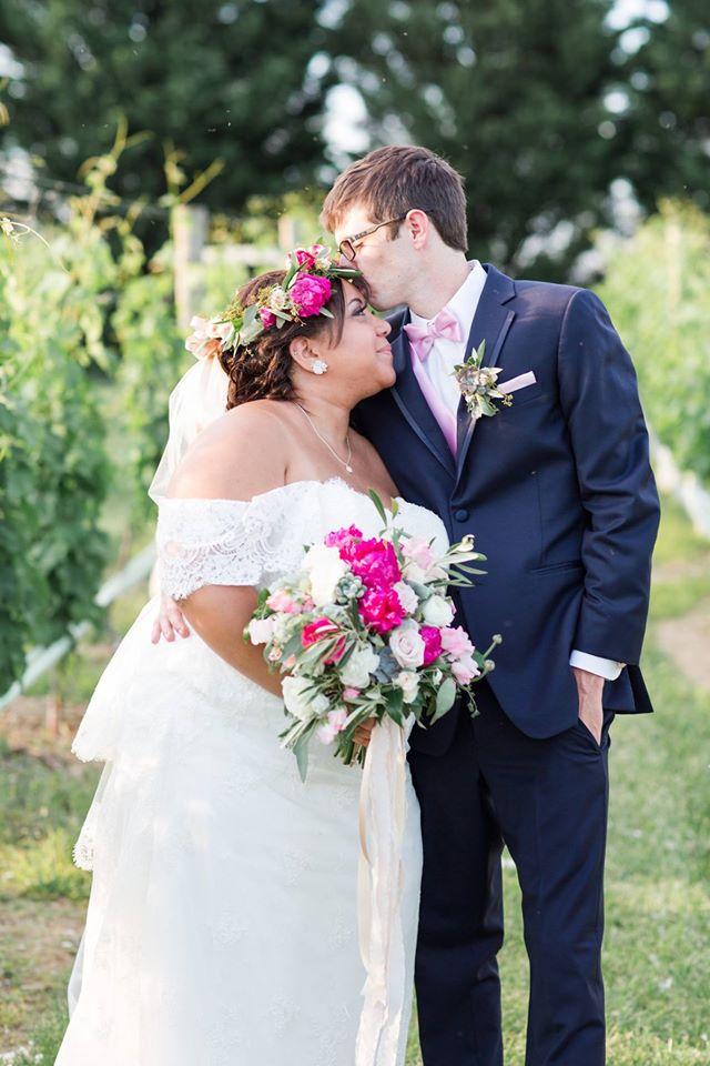wedding-photo Waterford, Virginia Winery Wedding