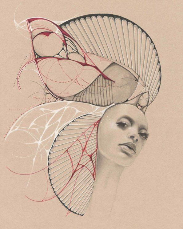 Ivette_Cabrera_Monarch_web-595x744 Art Inspiration from Florida Belle Ivette Cabrera