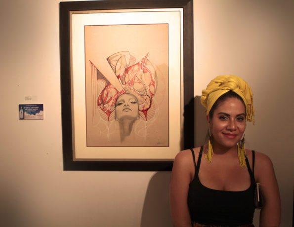 ivette_cabrera_bombay_sapphire_exhbit-copy-595x460 Art Inspiration from Florida Belle Ivette Cabrera