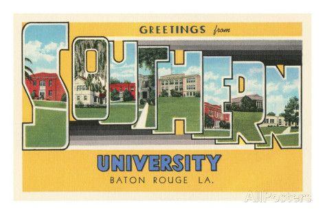 Black Southern Belles of Southern University in Baton Rouge, LA