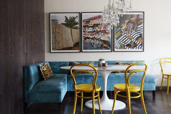 Michael-Tavano-Crypton-Velvet-Banquette-595x397 5 Looks of Velvet Inspiration for Your Home this Winter