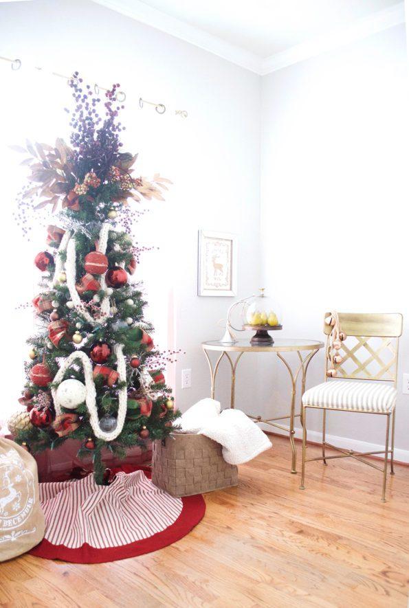 9-Stash-of-Panache-Holiday-Decor-595x885 How Houston-Based Interior Designer Alana Frailey Decorates Her Home For The Holidays