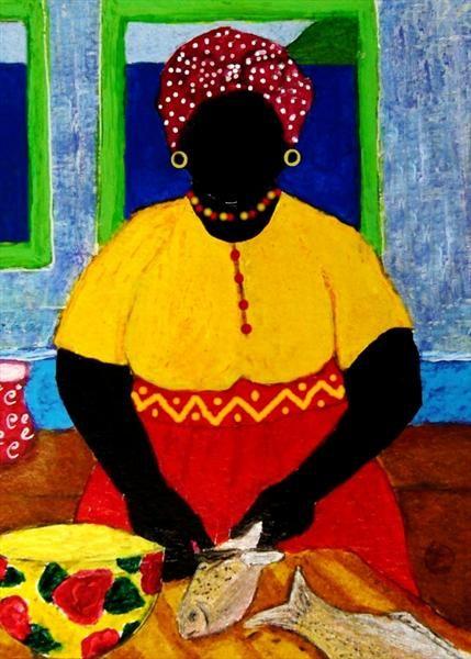 Gullah_Art_Tessa_Edwards 16 Pieces of Gullah Art to Add Your Gallery Wall