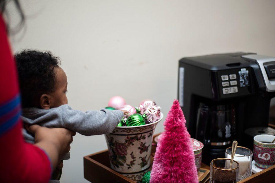 Preppy Holiday Fun: Christmas Coffee Bar Essentials
