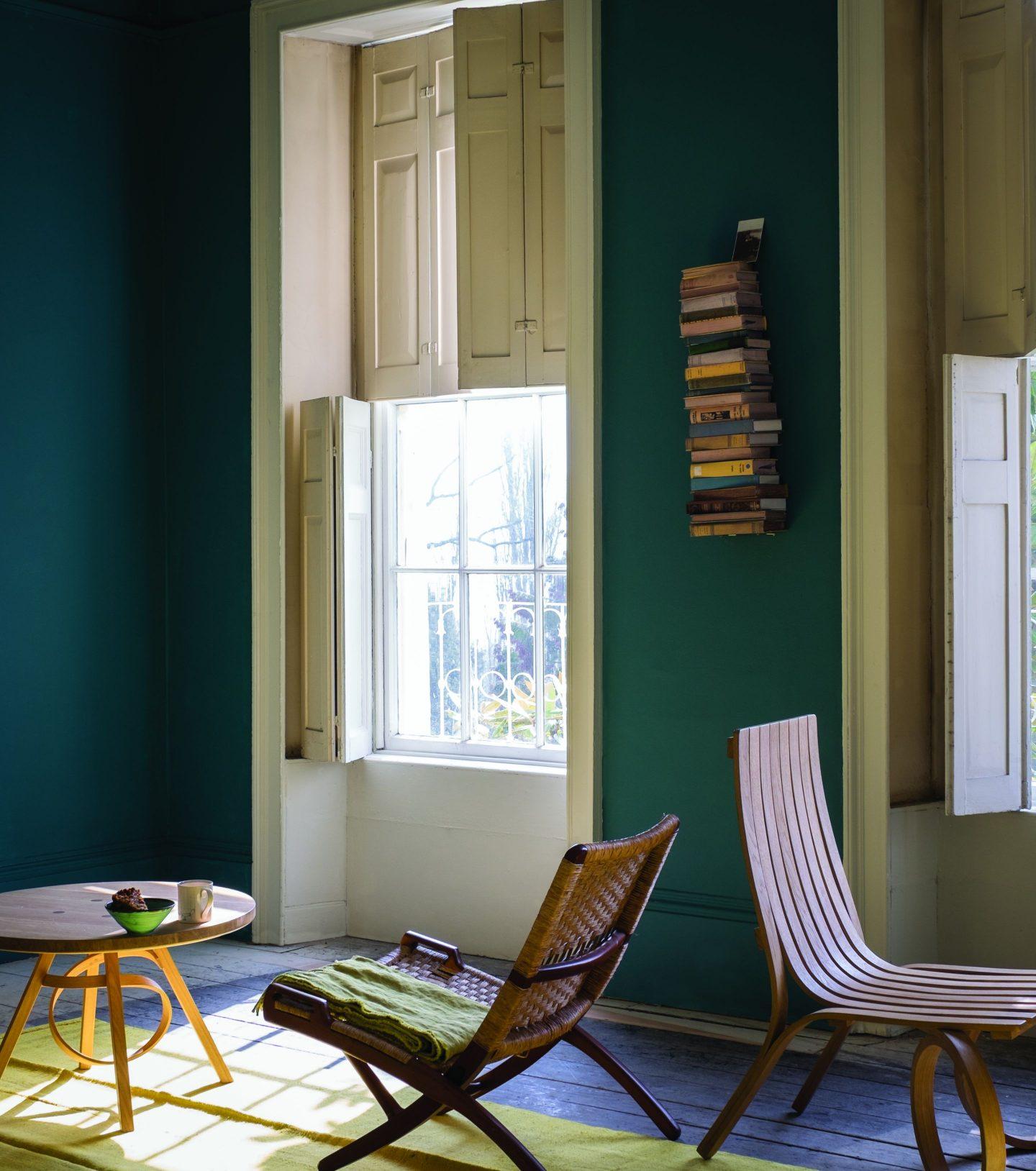 FarrowBall_1360427_VARDONo288.jpg-1440x1628 Paint Inspiration: 20 Colorful Rooms We Love