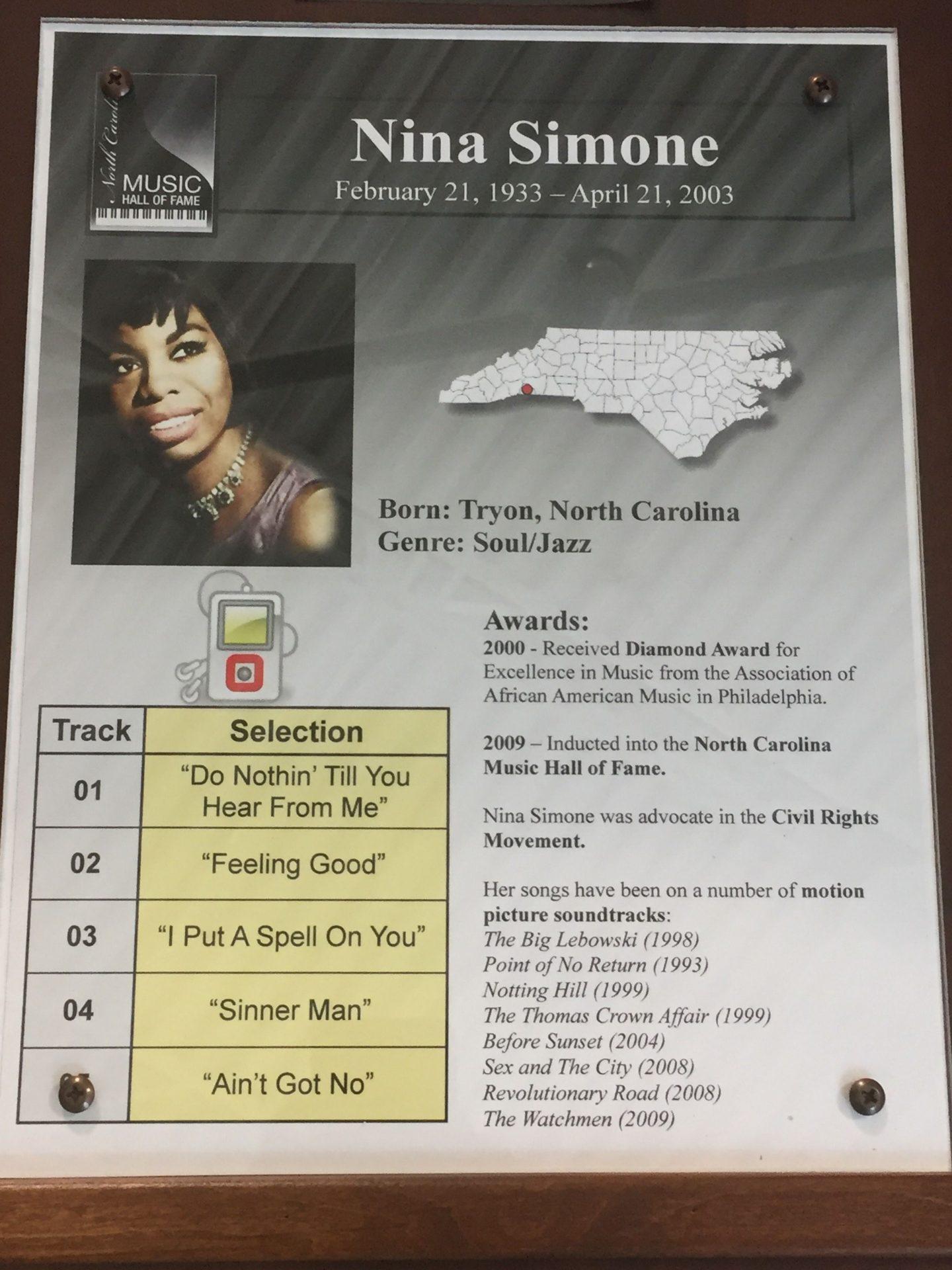 IMG_0672-1440x1920 Nina Simone: A North Carolina Legend and Hall of Famer