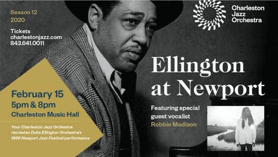 Heritage Travel: Charleston Jazz Orchestra Presents Ellington at Newport