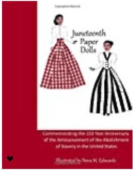 Juneteenth Paper Dolls: